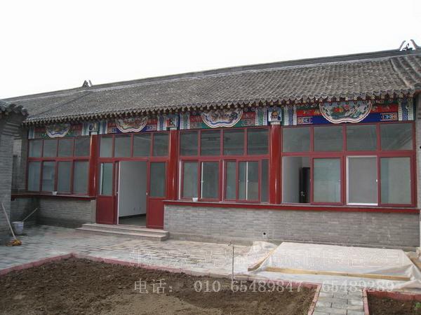 四合院设计,四合院装修,四合院设计图,北京小汤山四合院 北京东方