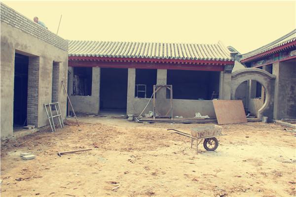 北京溪谷风情3-6-1四合院设计