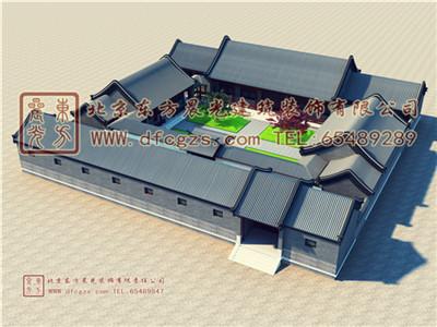 东北延吉四合院设计
