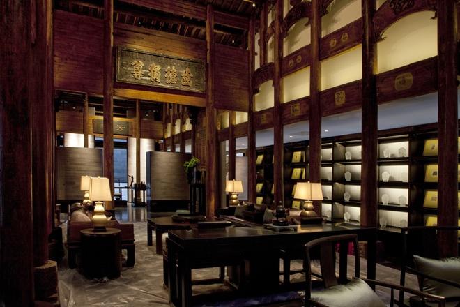李宅四合院中式装修的文化内涵