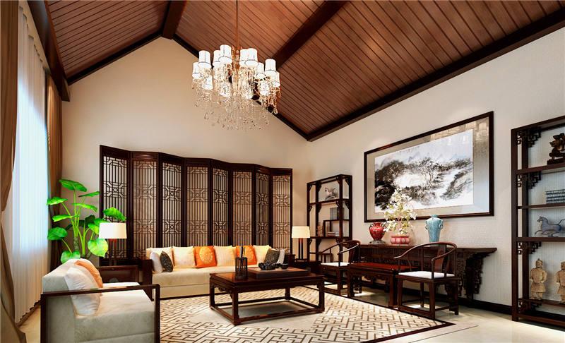 北京怀柔王宅四合院中式装修设计