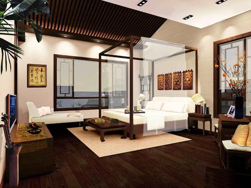 中式风格的四合院装修