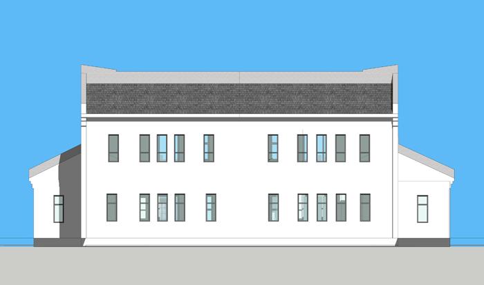 古建四合院设计效果图,古建四合院设计