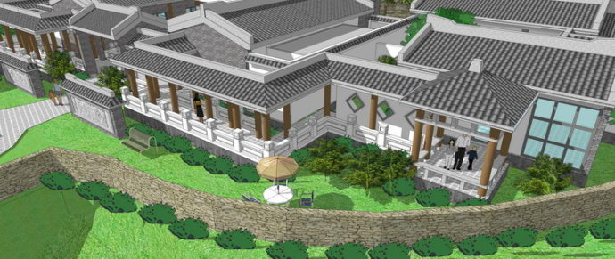 四合院建筑设计特点,四合院建筑设计