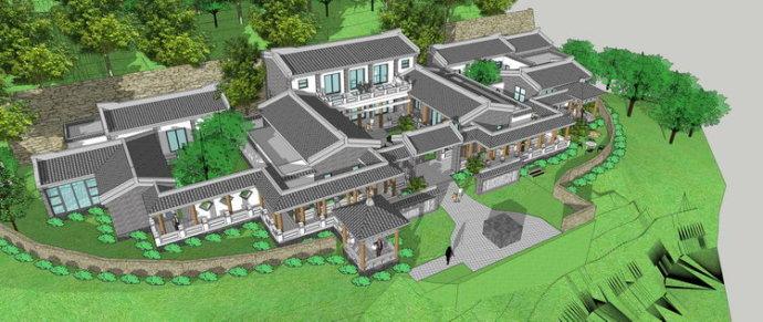 四合院建筑设计特点