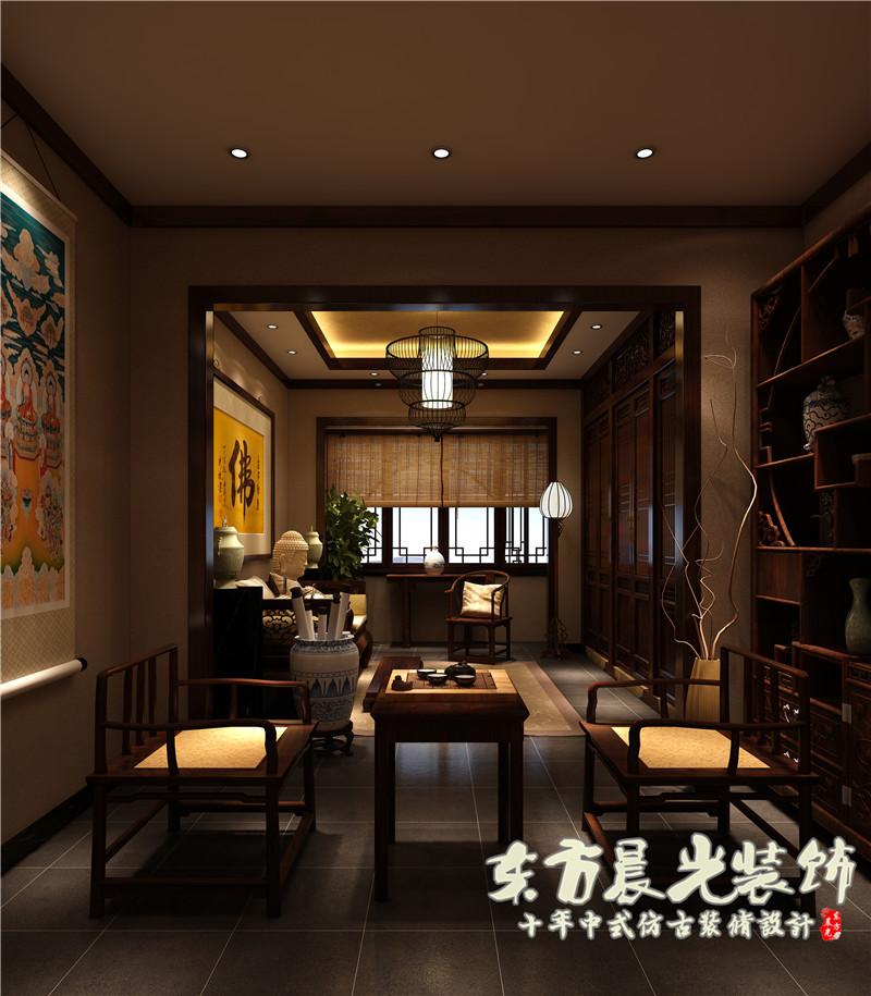 中式四合院设计与时尚元素的结合
