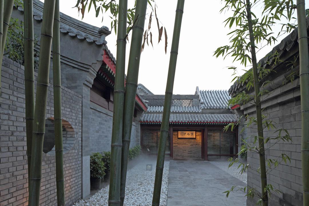 北京四合院餐厅装修图片 感受浑然天成
