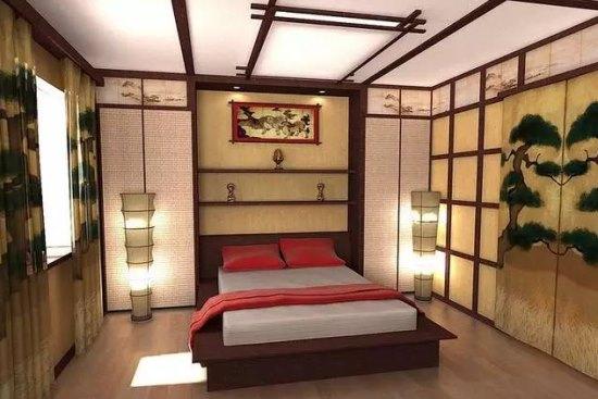中式四合院卧室设计效果图