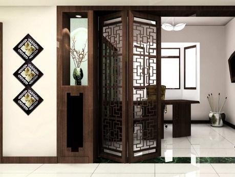 四合院古典风格客厅设计图