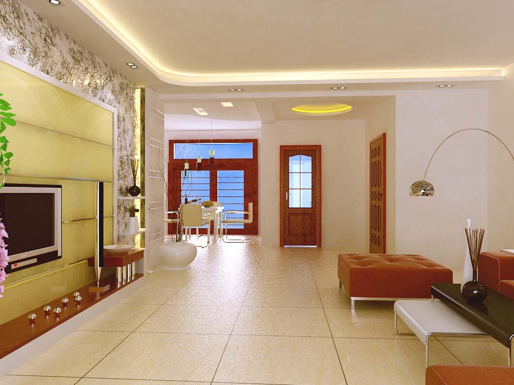 四合院中式风格客厅装修效果图