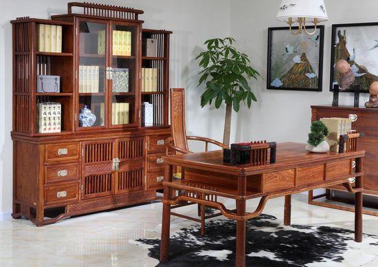 最新四合院书房装修设计效果图