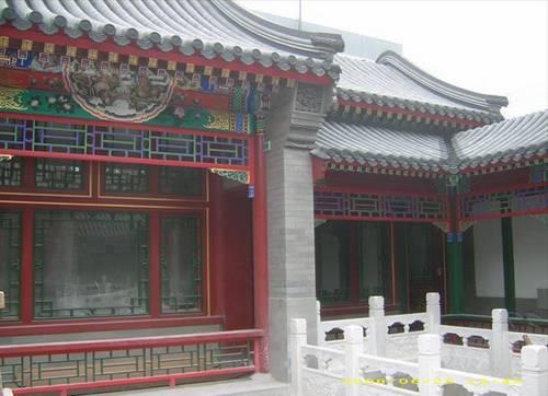 古典中式四合院房屋设计装修效果