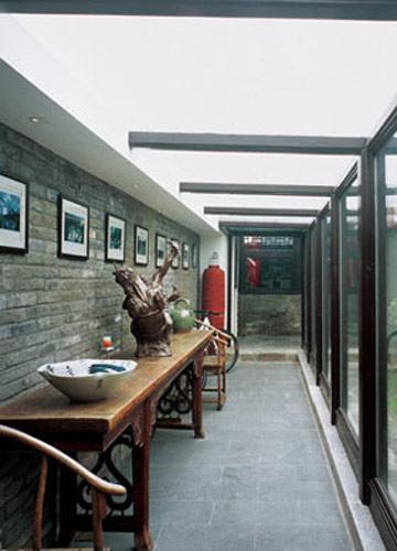 农村四合院房屋设计的古典韵味-农村四合院房屋设计效果