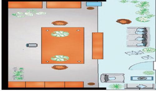 四合院中式装修效果 倾力打造阳光房