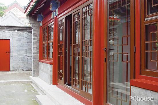 四合院中式装修效果 胡同情深感触中国