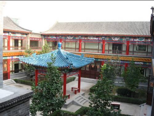 传统中式四合院设计 装修效果图