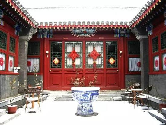 北京仿古四合院设计