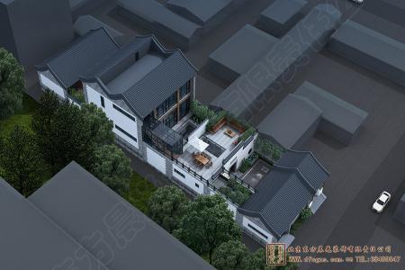 河北廊坊大厂四合院设计施工项目