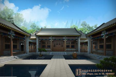 三龙镇康养中心四合院设计施工项目