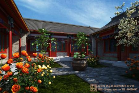 北京密云遥桥古堡四合院设计施工项目