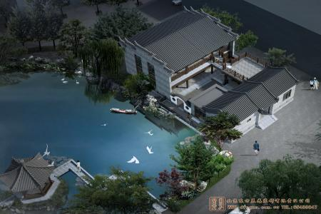 江西吉安思位堂四合院设计施工项目