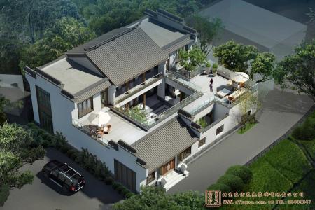 福建泉州四合院设计施工项目