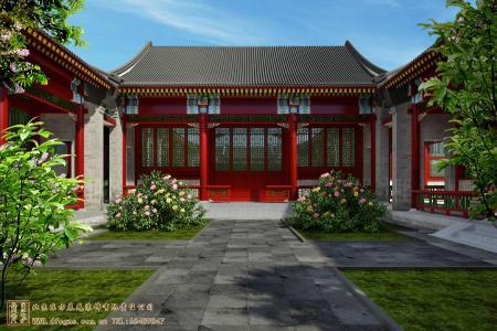 江苏扬州共创综合研发楼四合院设计项目