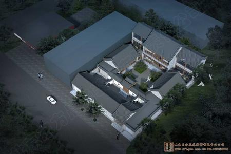 河北廊坊永清四合院设计施工项目