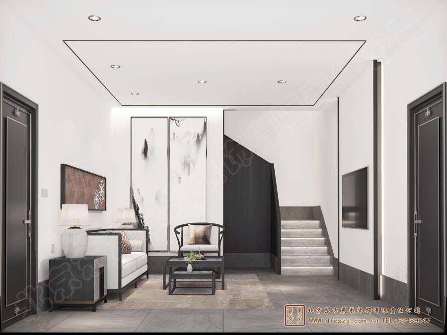 四合院客厅设计图