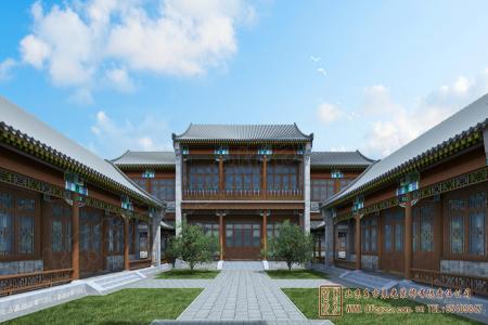 河北保定蠡县四合院设计施工项目
