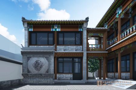 北京房山四合院设计施