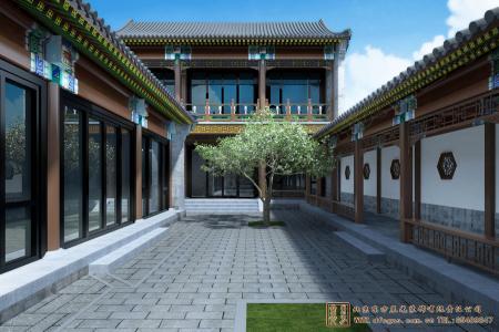 河南邓州四合院设计施