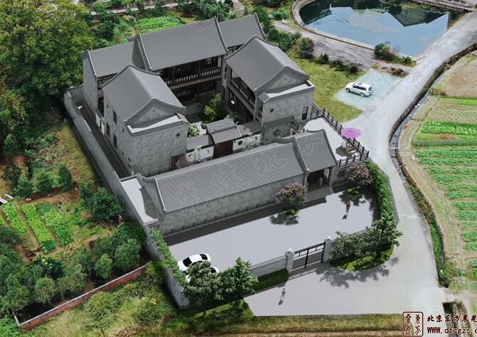 江西萍乡四合院设计施