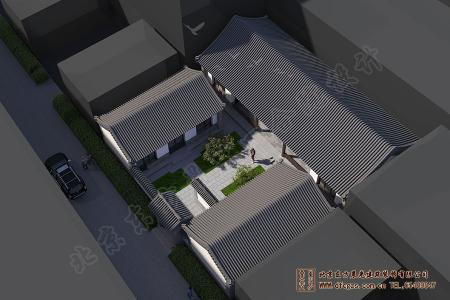 北京延庆四合院设计施工项目