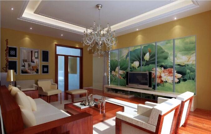 中式设计客厅装修