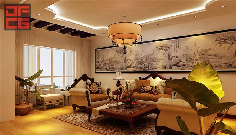 温馨舒适现代别墅装修设计