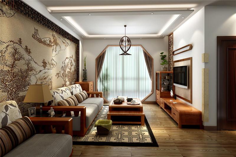 优雅中式亦简亦美别墅装修设计