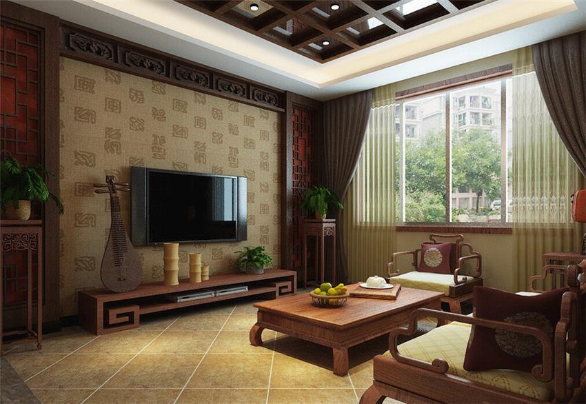 中式别墅装修设计凸出原汁原味