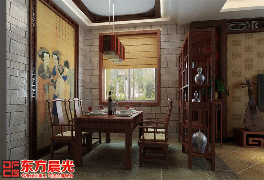 传统中式别墅装修设计