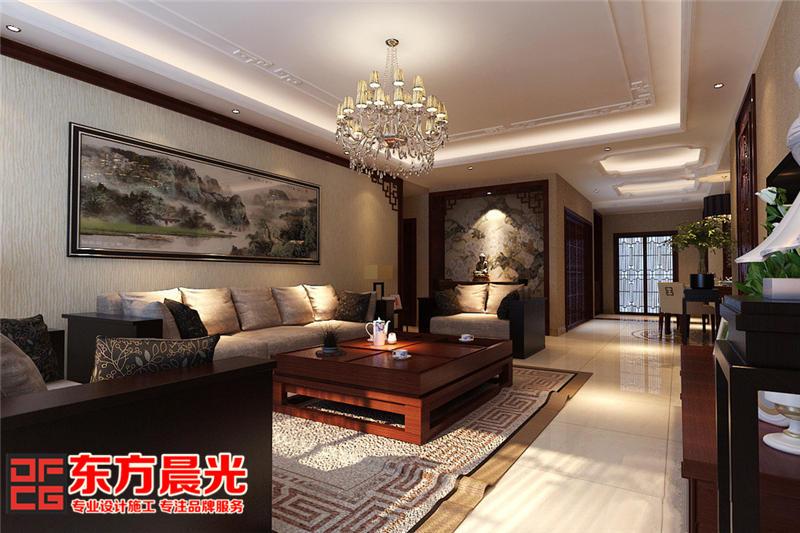 现代中式别墅装修设计