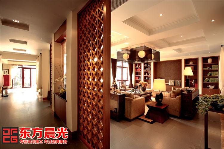 中式别墅装修设计实景图