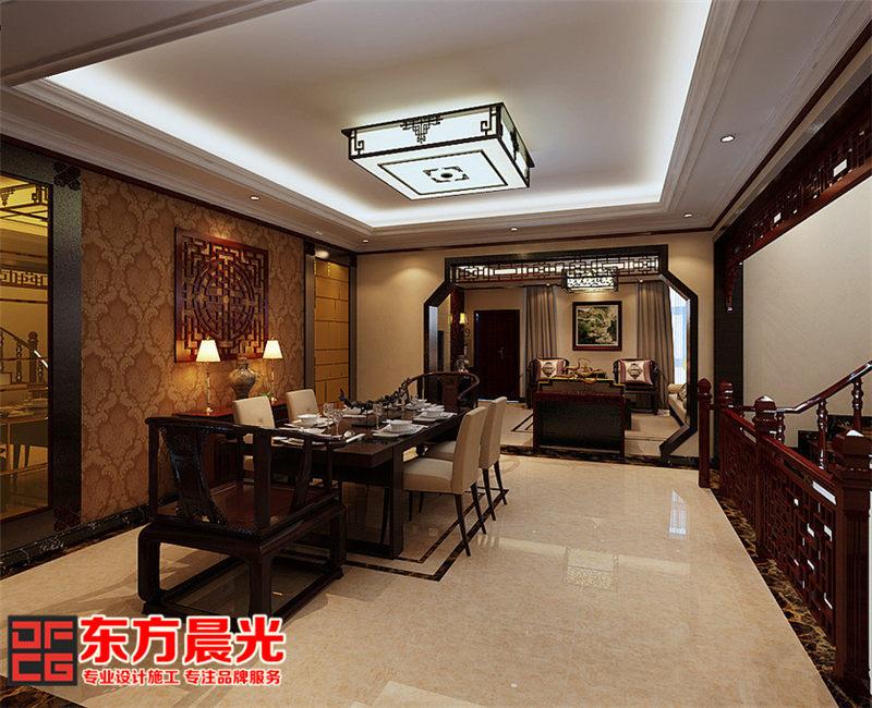 山间别墅中式装修设计