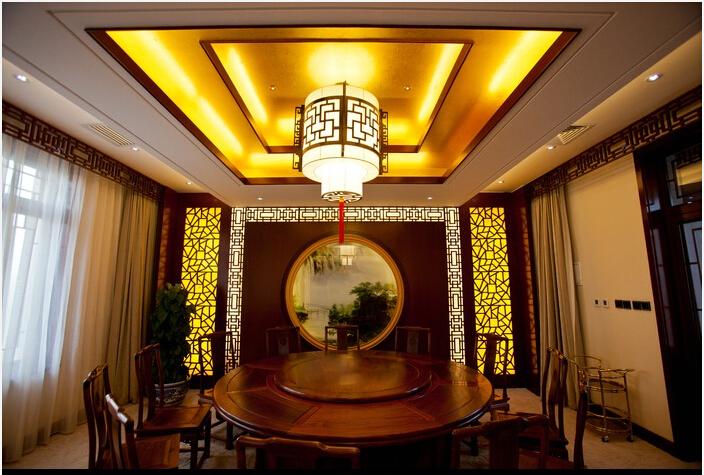 彰显富贵雅韵的中式别墅装修