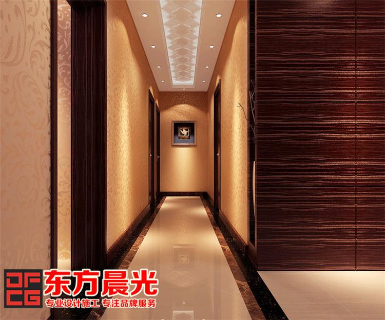 现代简约风格别墅装修设计_过道