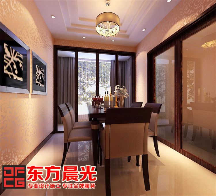 现代简约风格别墅装修设计_餐厅