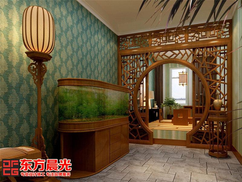 中式别墅装修设计——休息区