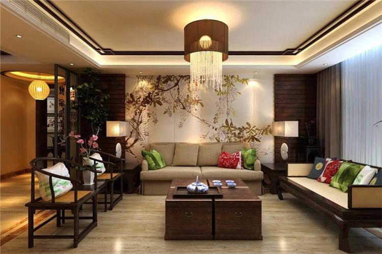 色彩斑斓古典中式别墅装修设计