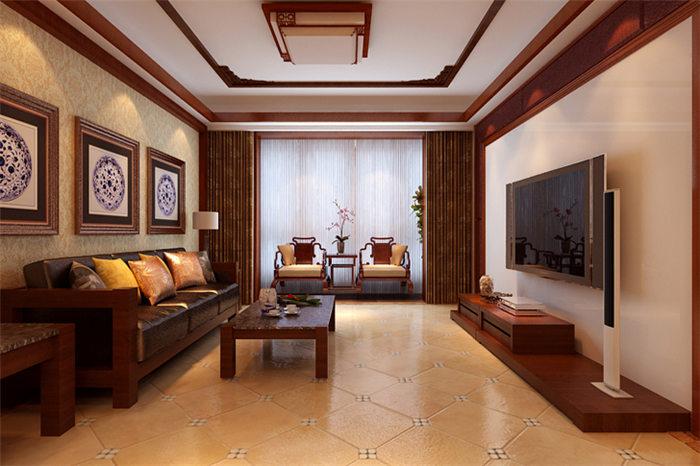 新中式风格家装别墅装修设计