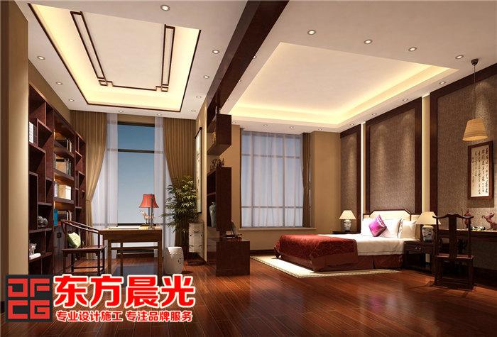 家装中式装修设计倍显温文儒雅-卧室