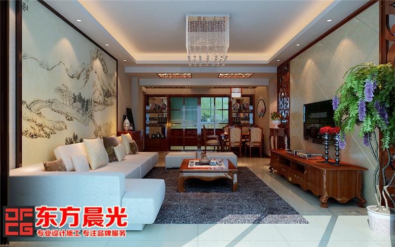 中式风格高端沉稳别墅装修设计